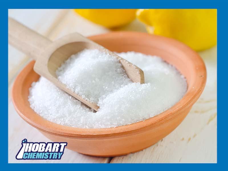 تفاوت اسید سیتریک خشک و آبدار